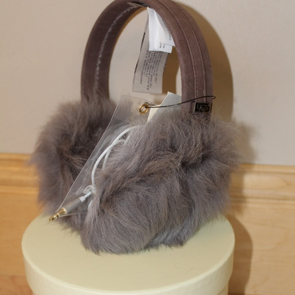a7984046569 UGG TOSCANA FUR TECH WIRED EARMUFFS NEW WITH TAGS! Boutique